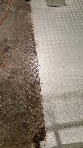 Image of Single Source Mezz Floor - Before and After