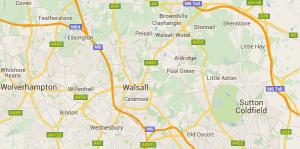 WalsallMap