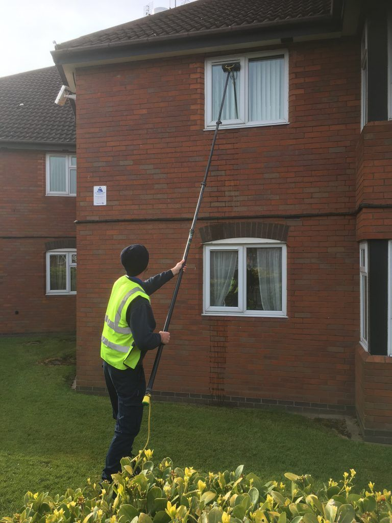 Image of window cleaning.